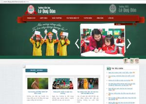 Minh website school